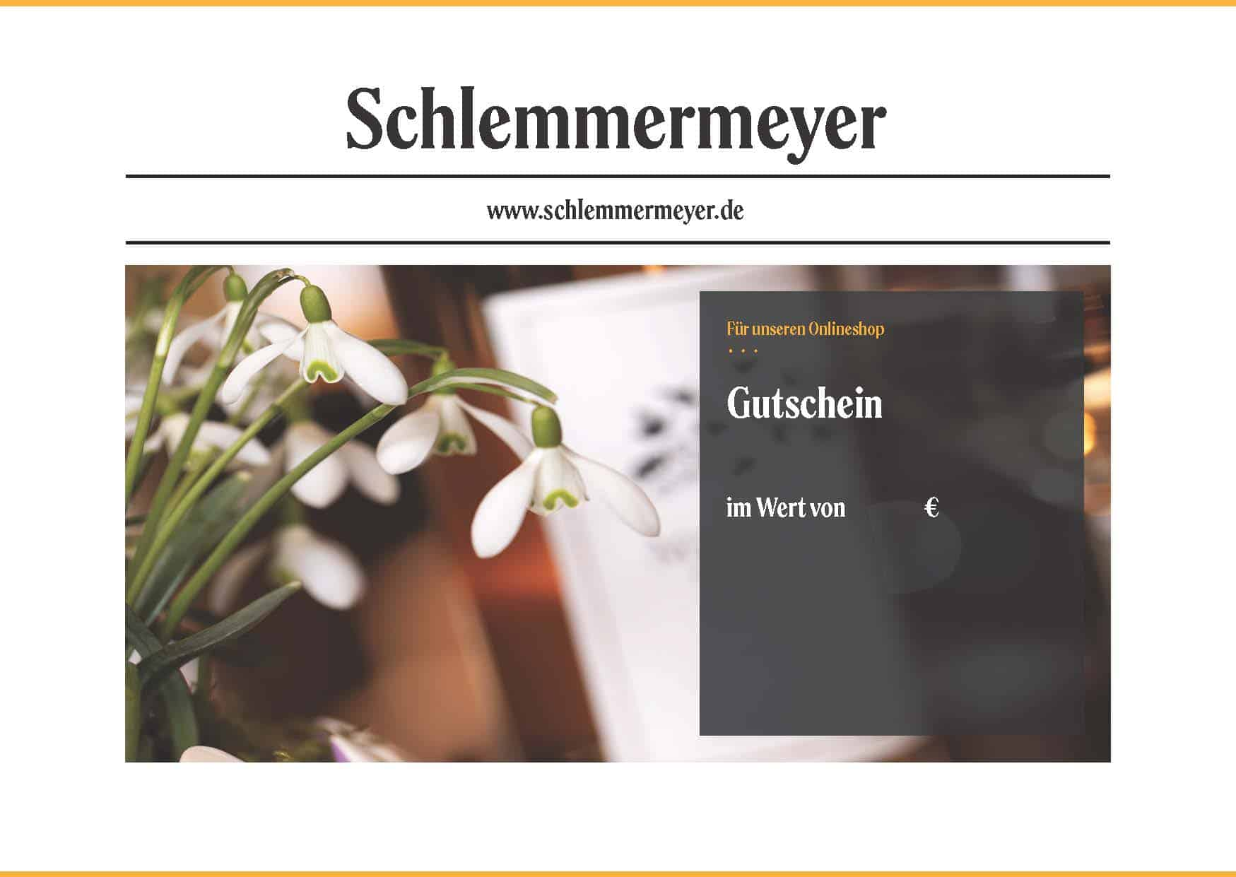Schlemmermeyer_Gutscheinvorlage_Motiv Frühling